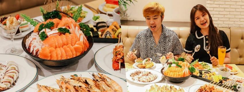 Buffet Seafood, A-One Bangkok