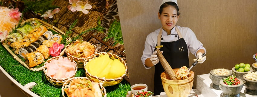 Lunch Buffet M Pattaya, พัทยา