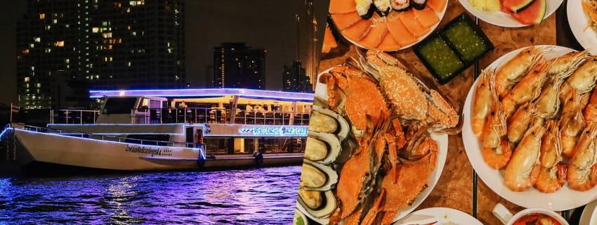 White Orchid Cruise ล่องเรือบุฟเฟ่ต์