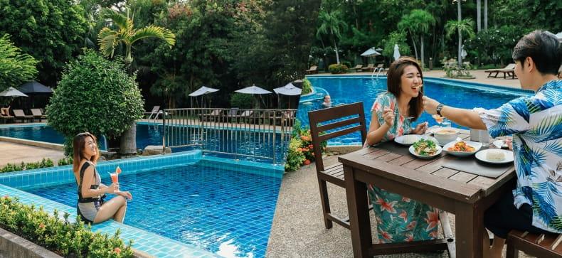 Sunshine Garden Resort, พัทยา
