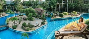 The Green Park Resort, พัทยา