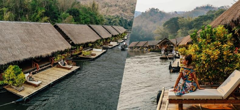 River Kwai Jungle Raft, กาญจนบุรี