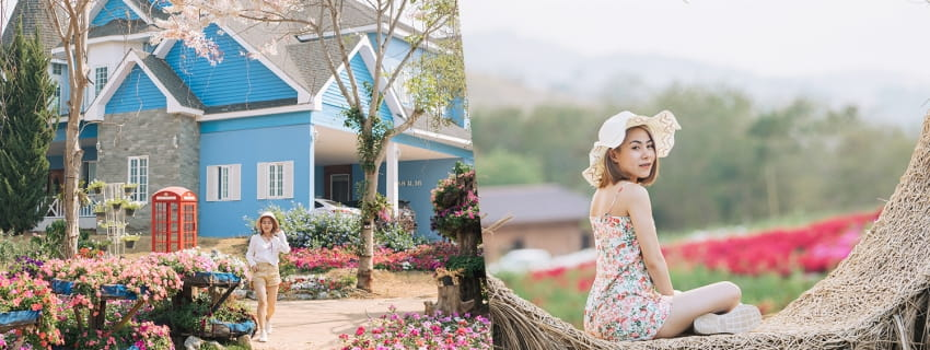 Khaoyai Flower Mountain, เขาใหญ่