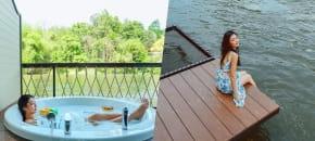 Binlha Raft Resort, กาญจนบุรี