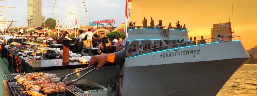 Royal Princess Cruise,เรือเจ้าพระยา
