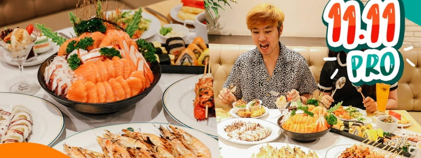 (11.11 PRO) A One Bangkok Hotel (Dinner)