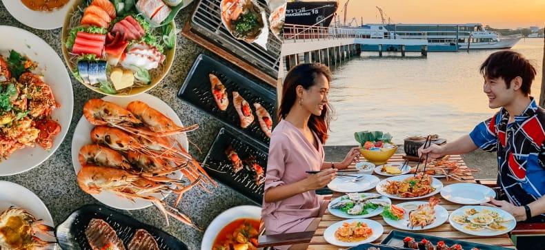 Seafresh Riverside Buffet, กรุงเทพ