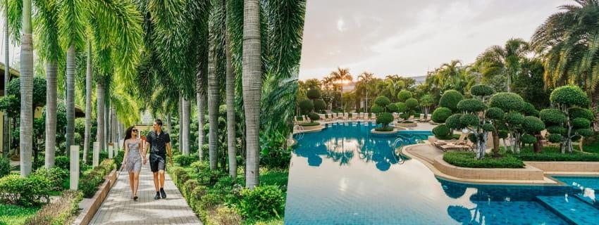 Thai Garden Resort, พัทยา