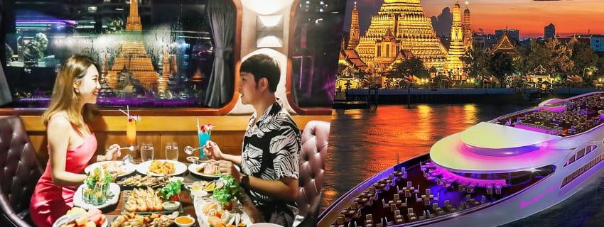Wonderful Pearl Cruise,เรือเจ้าพระยา