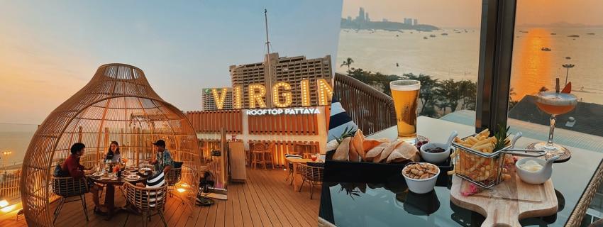 Virgin rooftop,พัทยา
