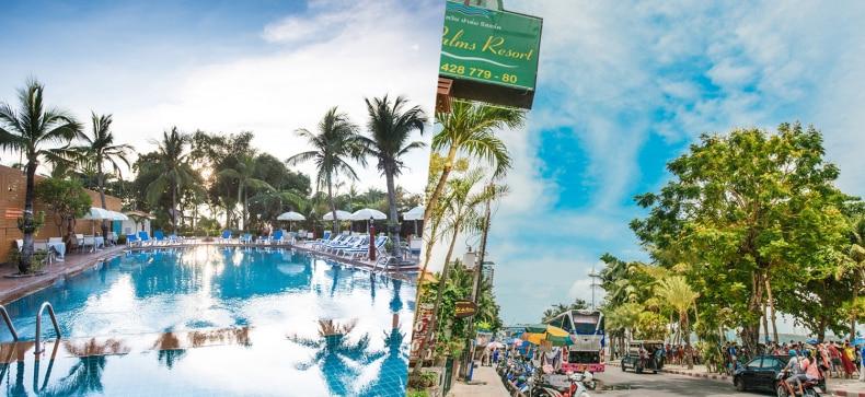Twin Palms Resort, พัทยา
