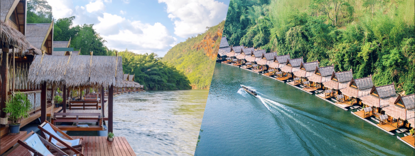 The Float House River Kwai, กาญจนบุรี